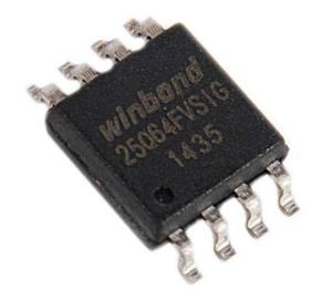 Так выглядит чип БИОС