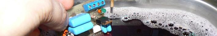 Очистка в ультразвуковой ванне