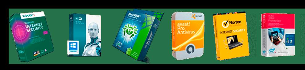 Известные производители антивирусов